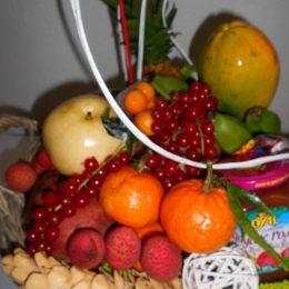 Corbeille de fruits pour les fetes