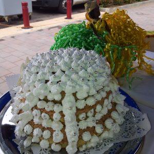Gâteau de ceremonie pour un  baptême