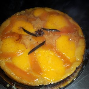 Tatin mangue -papaye